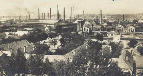 Ipari termelés a Weiss Manfréd Művekben