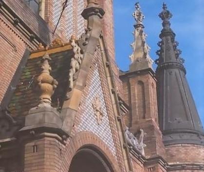 Zsolnay építészeti kerámiákról