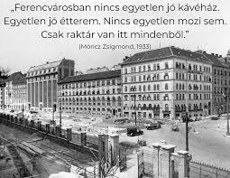A ferencvárosi vendéglátás történetéből