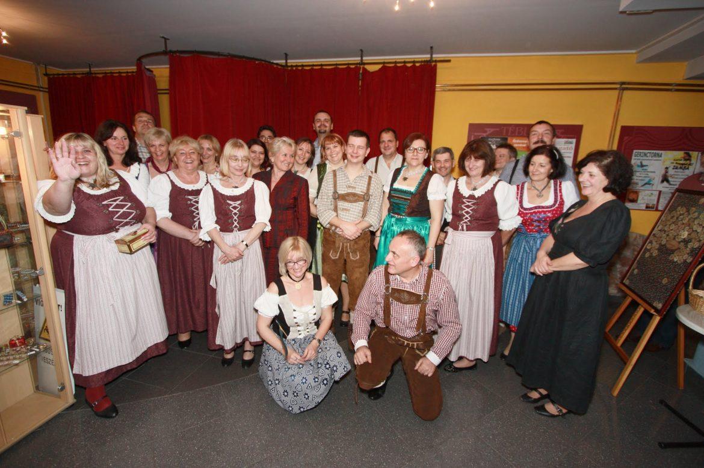 Német közösségekről kiállítás